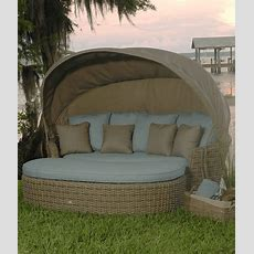 Dreux Outdoor Daybed  Ebel Outdoor Furniture  Stonewood