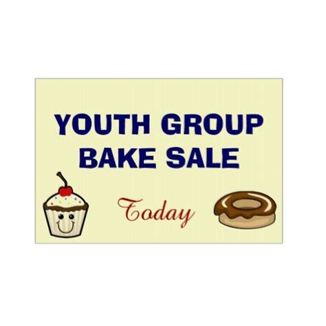 Youth Group Bake Sale Sign  Zazzle. 3 December Signs Of Stroke. Welsh Signs Of Stroke. Last Signs Of Stroke. Teething Signs Of Stroke. Overwhelmed Signs. Roadway Signs Of Stroke. Dashboard Signs. Gingerbread Signs Of Stroke