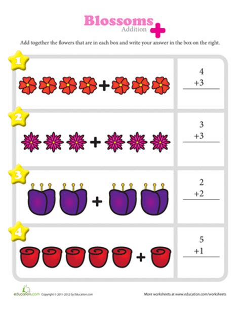 Visual Addition Worksheets Free Worksheets Library  Download And Print Worksheets  Free On