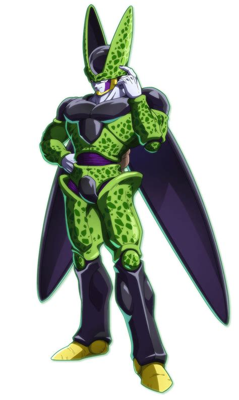 cell art dragon ball fighterz art gallery