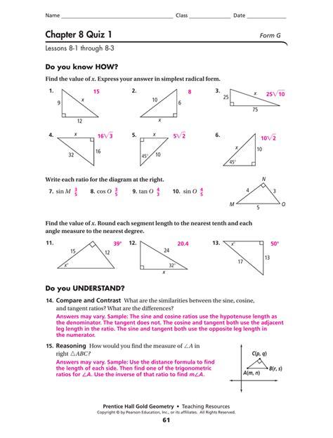 prentice hall geometry worksheet answers free worksheets
