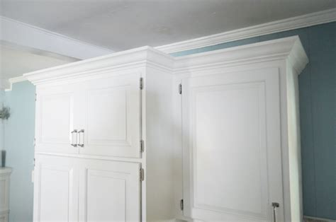 crown molding on top of cabinets how to add crown molding to the top of your cabinets