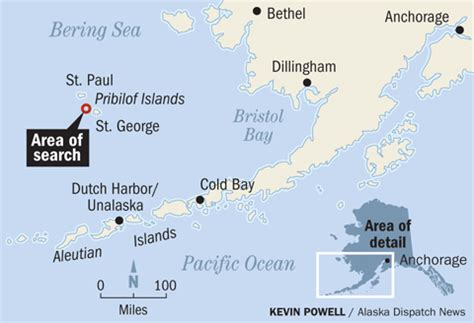 Bering Sea Crab Boat Destination by Searches Suspended With No New Sign Of Missing Bering Sea