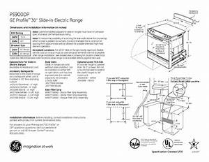 Ge Profile Ps900dpww Manuals