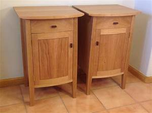 Cherry Bedside Table Choice Image - Bar Height Dining