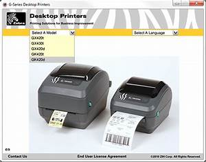 easify help installing a zebra gk420d thermal label printer With install zebra printer