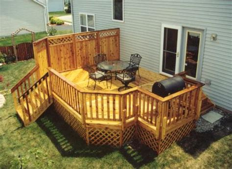menards deck builder 14 x 20 deck with grill area building plans only at