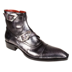 mens designer boots jo ghost s designer shoes metallic black leather boots