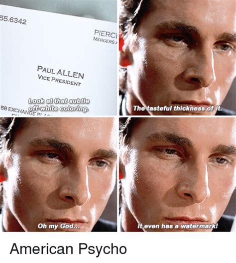 memes  american psycho american psycho memes