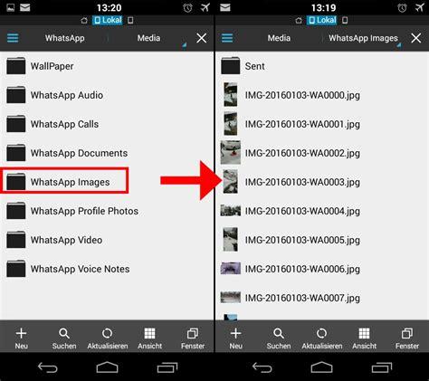 whatsapp bilder weg ursachen und loesungen