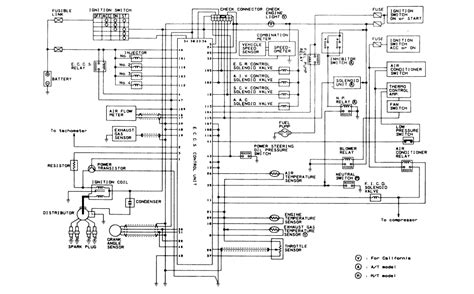 1989 Nissan Fuel Wiring Diagram by Repair Guides