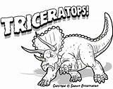 Dinosaur Coloring sketch template