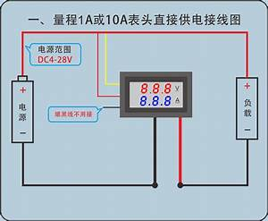 Red Blue Led Display Dc 0