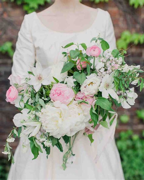 peonies and garden roses wedding bouquet creative ads