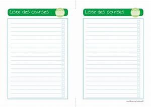 Listes De Courses : modele fiche recette cuisine vierge cb71 jornalagora ~ Nature-et-papiers.com Idées de Décoration