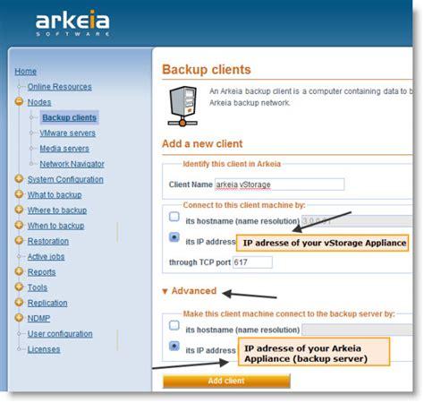 Arkeia vStorage Virtual Appliance Review | ESX Virtualization