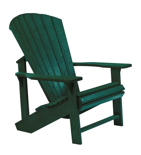 generations green adirondack chair from cr plastic c01 06