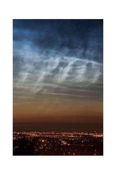 Clouds Noctilucent Animated July England Amazing Cloud