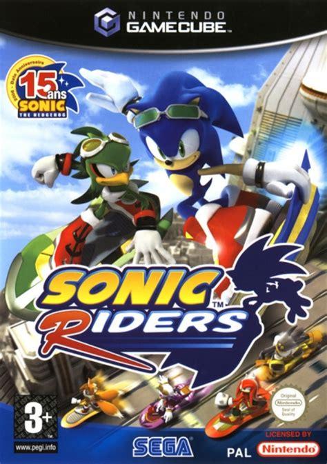 sonic riders gc jeux occasion pas cher gamecash
