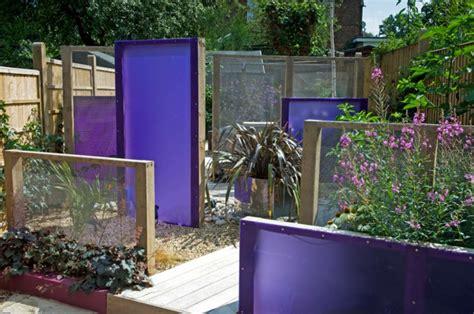 Sichtschutz Für Garten Selber Bauen  Holz, Glas Oder Metal
