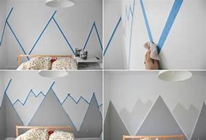 Wandgestaltung Selber Machen : wandgestaltung mit farbe wandgem lde von bergen selber ~ Lizthompson.info Haus und Dekorationen