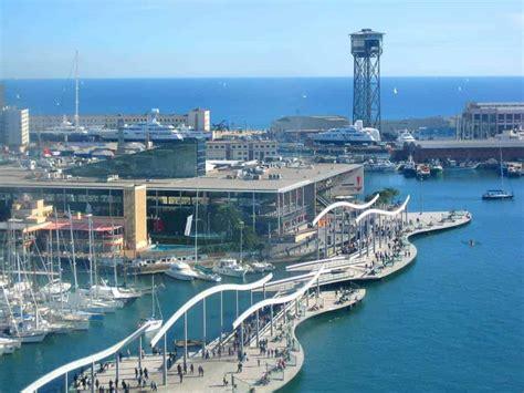 visiter barcelone centre commercial maremagnum