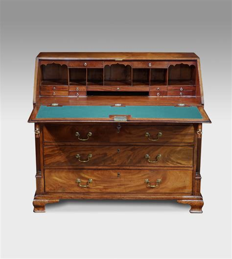 antique bureau mahogany bureau antique desk bureau and