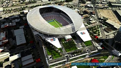 San Diego Chargers Release A Conceptual Design For A