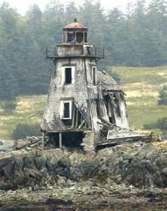 Canada Abandoned Lighthouse