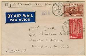 postal history corner air mail rates to the united kingdom With mailing bulk letters