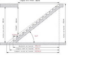 Calcul Marche Escalier Formule by Construire Un Escalier La Varlope