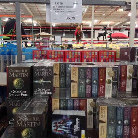 game  thrones books box set   costco members