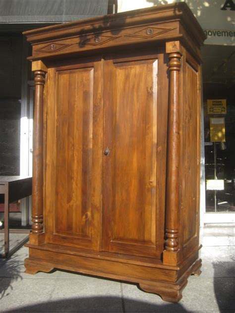 Cloth Armoire by Uhuru Furniture Collectibles Sold Large Armoire 200
