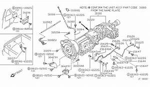 Nissan Frontier Transmission Diagram