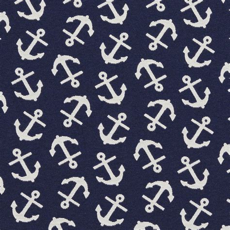 Nautical Upholstery by Blue And White Boat Anchor Nautical Sailing
