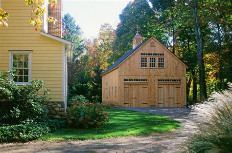 New Barn Garage by Welcome Home Boston Magazine Post And Beam Barns Ct Ma