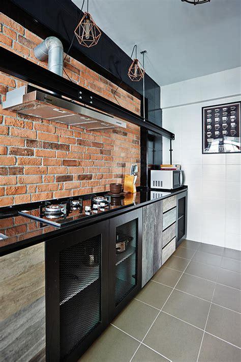 trendy kitchens  hdb flat homes home decor singapore