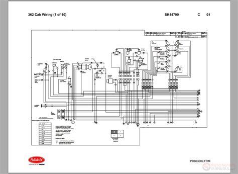 2004 Peterbilt Wiring Schematic For A 335 by Peterbilt Pb362 Cab Wiring Schematic Sk14799 Auto