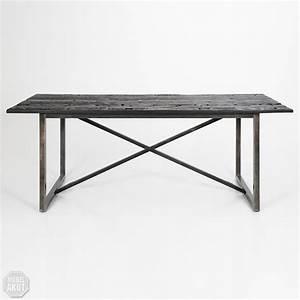 Tisch Metall Holz : esstisch rali tisch recycled holz massiv gestell metall ~ Whattoseeinmadrid.com Haus und Dekorationen