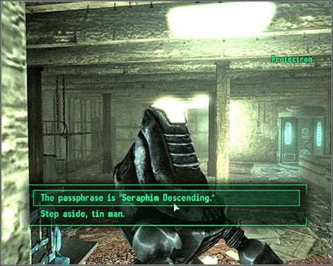 Fallout 3 Velvet Curtain Mission by Side Quests Quest 5 The Velvet Curtain Part 2 Side