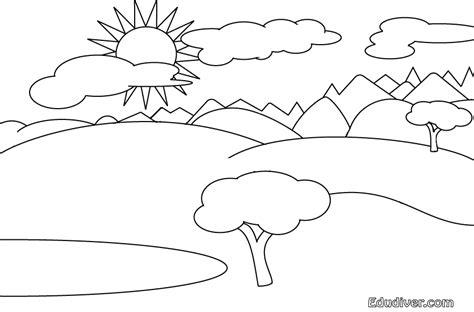 Como dibujar un lago Imagui