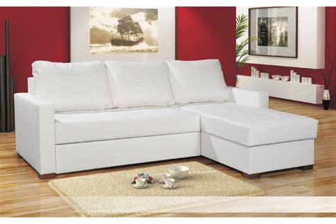 canapes cuir blanc canapé d 39 angle blanc chlara canapés d 39 angle canapés et