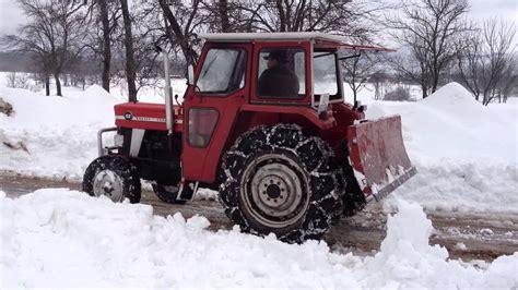 massey ferguson 158 massey ferguson 158 čišćenje snijega