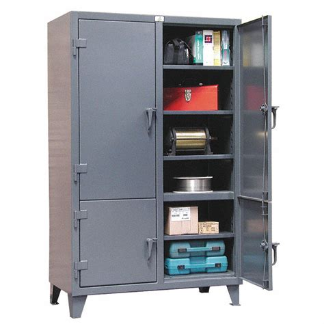 strong hold cabinets strong hold storage cabinet gray 78 quot overall height