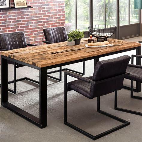 Tisch Industrial Style by Wohnling Esstisch Bellary 200x100x76 Cm Esszimmertisch