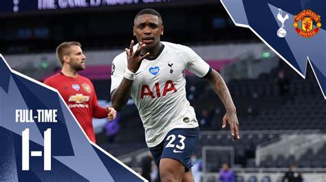 Tottenham vs Manchester United 1-1 – Highlights [DOWNLOAD ...