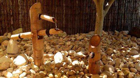 Bamboo Water Feature Diy Youtube