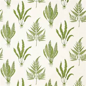 Roman Blinds in Woodland Ferns Fabric