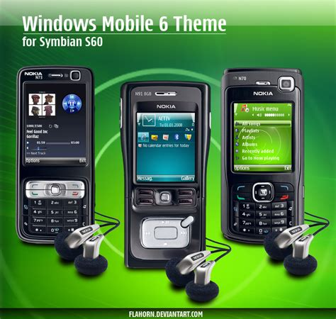 Windows Mobile 6 Themes By Flahorn On Deviantart