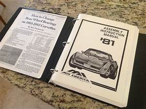 1981 Chevrolet Corvette Assembly Instruction Manual    Mid